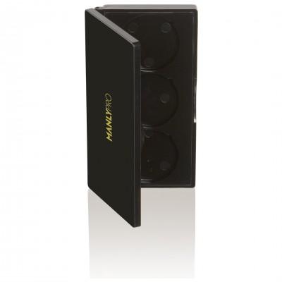 Кейс пластиковый для рефилов на 3 ячейки Manly Pro МК3: фото