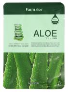 Маска с экстрактом алоэ FARMSTAY Aloe visible difference mask sheet 23 мл: фото