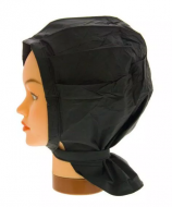 Шапочка для химической завивки Sibel PLASTI-CAP VELCRO черная: фото