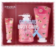 Набор для тела с экстрактом персика Frudia Orchard body care gift set peach lover: фото